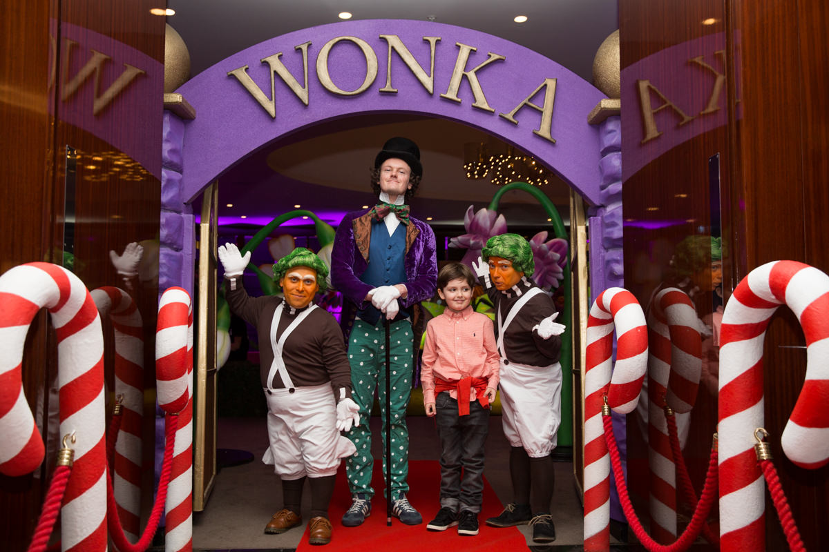 a charlie and the chocolate factory th birthday party kate cowdrey children s parties bulgari hotel event photography kate cowdrey